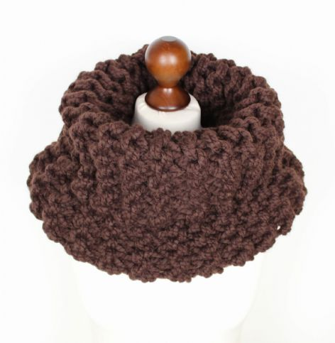 Chocolate Brown Outlander Style Cowl